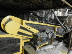 "APPROX. 26' OF 46"" STEEL BELT CONVEYOR [RIGGING FEE FOR LOT #35 - $500 USD PLUS APPLICABLE TAXES]"