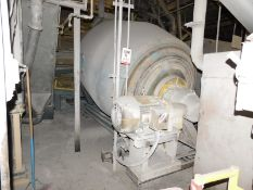 JAEGER RE-900 ROTARY BATCH MIXER, WITH 403 CU. FT. MAX. WORKING CAPACITY AND 40HP MOTOR, S/N: N/A [