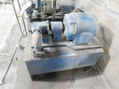 10 HP HYDRAULIC PUMP WITH RESERVOIR, S/N: N/A [RIGGING FEE FOR LOT #31 - $200 USD PLUS APPLICABLE