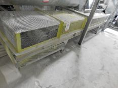 "APPROX. 22'X20"" TRI-ROLLER BELT CONVEYOR [RIGGING FEE FOR LOT #21 - $500 USD PLUS APPLICABLE TAXES]"
