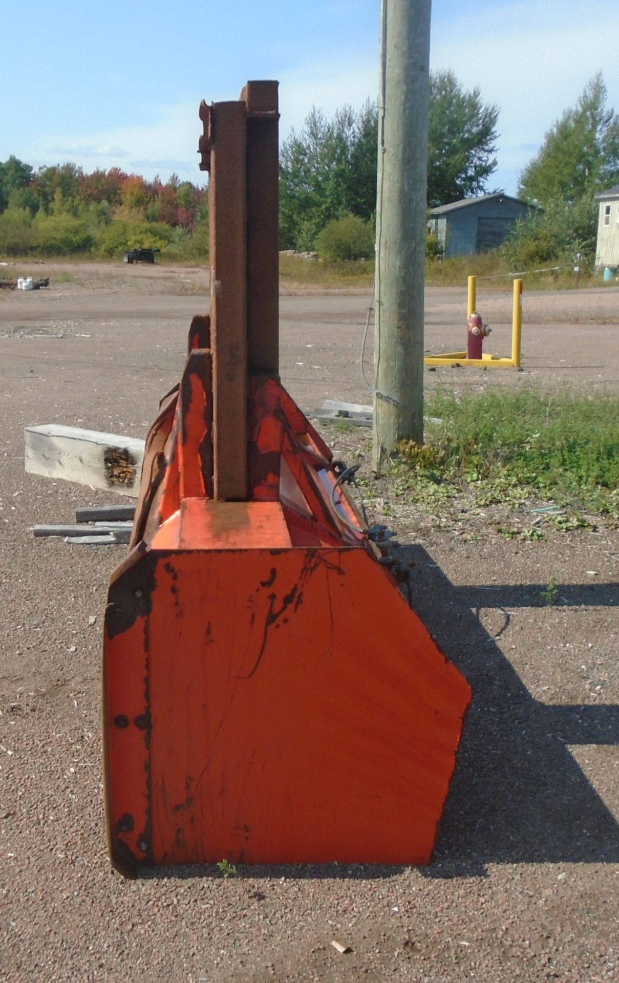 MFG UNKNOWN 10' BOX PLOW ATTACHMENT - Image 2 of 2