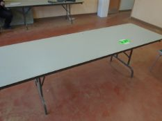LOT/ LUNCHROOM TABLES & CHAIRS (APPROX. 40 CHAIRS & 5 TABLES)