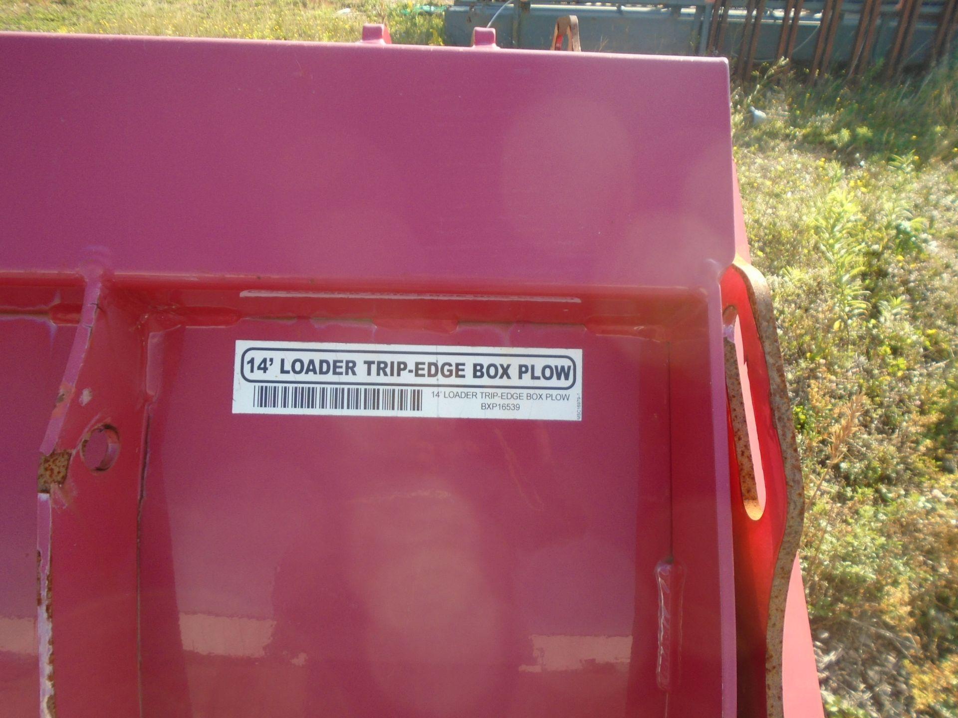 BOSS BXP16539 14' TRIP EDGE PLOW ATTACHMENT - Image 3 of 3