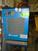 COMPAIR REFRIGERATED AIR DRYER WITH ADS 93 DIGITAL TEMPERATURE CONTROL, S/N: N/A (CI)