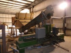 LOT/ CUSTOM VALLEY MACHINE WORKS SAWDUST/WOOD SHAVINGS BAGGING SYSTEM WITH ELECTRONIC CONTROLS AND