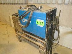 MILLER DIALARC 250 PORTABLE STICK WELDER WITH CABLES & GUN, S/N: KK067895
