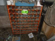 LOT/ PIGEON HOLE CABINET WITH HARDWARE