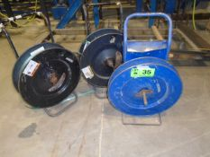 LOT/ (3) STRAPPING CADDIES