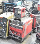 LINCOLN IDEALARC CV-300 PORTABLE DIGITAL MIG WELDER WITH CABLES AND GUN, S/N N/A [RIGGING FEE FOR