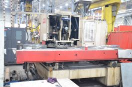 WIEDEMAN MURATECH VECTRUM 500 M-5 P4834 CNC TURRET PUNCH WITH FANUC OO-P CNC CONTROL, 52 STATION