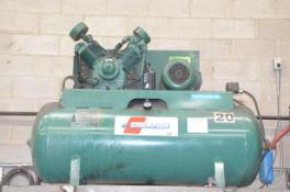CHAMPION 2-STAGE TANK MOUNTED PISTON TYPE AIR COMPRESSOR WITH 10HP, MAX 120 PSI CAPACITY, 575V/3PH/