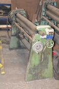 MFG UNKNOWN POWERED SLIP ROLLS, NOT IN SERVICE, S/N N/A [RIGGING FEE FOR LOT #12 - $25 CAD +