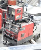 LINCOLN IDEALARC CV-250 PORTABLE DIGITAL MIG WELDER WITH CABLES AND GUN, S/N N/A [RIGGING FEE FOR