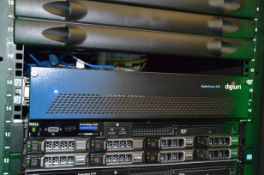 SWITCHVOX 310 DIGIUM DIGITAL RACK MOUNTED PHONE SYSTEM WITH APPROX. 20 HANDSETS EXPANDABLE UP TO 150