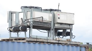 LOT/ (2) ROOF TOP CHILLER EVAPORATOR UNITS, S/N N/A