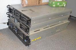 LOT/ (2) DELL POWEREDGE 2950 RACKMOUNT SERVERS AND (1) IBM X SERIES 365 RACK MOUNT SERVER [RIGGING