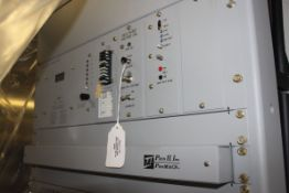 LOT/ (2) PECO II MODEL PEC 151N-A1 DC POWER SYSTEMS WITH 48VDC/600AMP CAPACITY, S/N N/A [RIGGING FEE