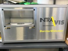 INTRAVIS BARRIER WATCHER BENCH-TOP CAMERA INSPECTION SYSTEM, S/N: N/A [RIGGING FEES FOR LOT# 20 - $