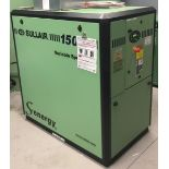 SULLAIR (2012) 1509EV/A 20 HP ROTARY SCREW AIR COMPRESSOR WITH 125 PSIG, 80.9 ACFM, S/N: