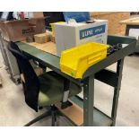 STEEL WORK BENCH (NO CONTENTS) [RIGGING FEES FOR LOT# 42E - $25 USD PLUS APPLICABLE TAXES]