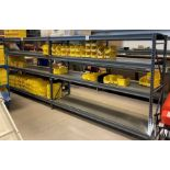 LOT/ (APPROX. 6) SECTIONS OF STEEL SHELVING LOCATED THROUGHOUT PLANT (NO CONTENTS) [RIGGING FEES FOR