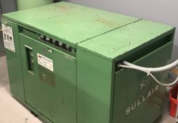 SULLAIR 10-40 40 HP ROTARY SCREW AIR COMPRESSOR WITH 100/110 PSIG, S/N: 003-60787 (CI)
