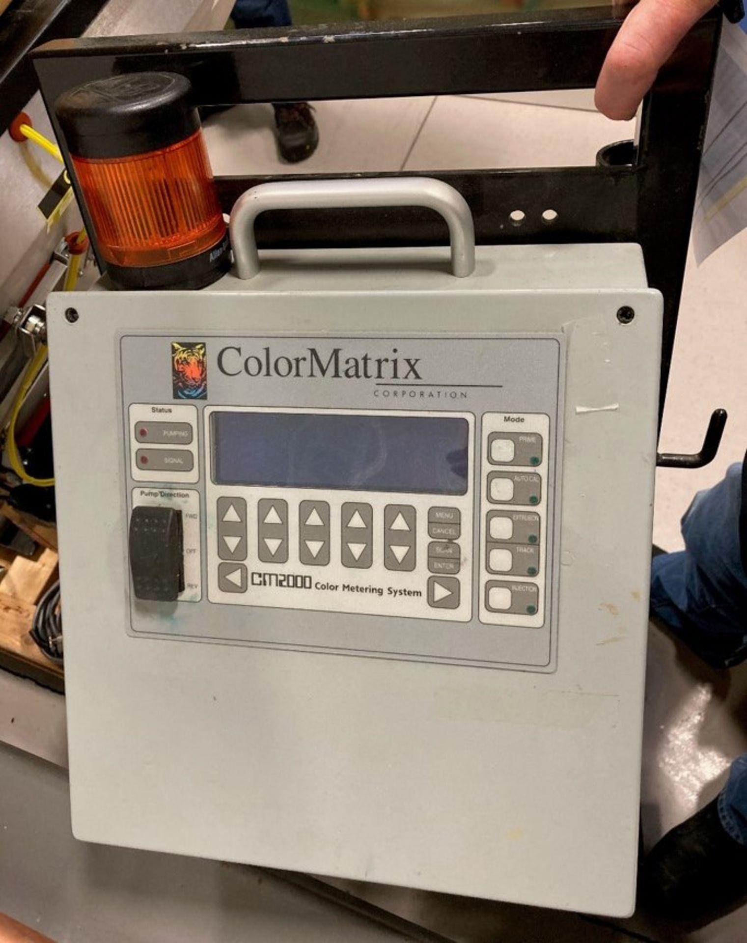 COLOR MATRIX CM2000 COLOR METERING SYSTEM, S/N: N/A [RIGGING FEES FOR LOT# 20B - $25 USD PLUS