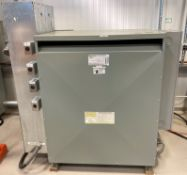 GE TRANSFORMER 500 KVA, 480V/219V, 3 PHASE [RIGGING FEES FOR LOT# 36 - $50 USD PLUS APPLICABLE