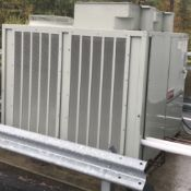 TRANE RAUJC404PC13A0DF00C00 ROOFTOP CHILLER UNIT WITH 460V, 3 PHASE, PROCESS COOLING SYSTEMS