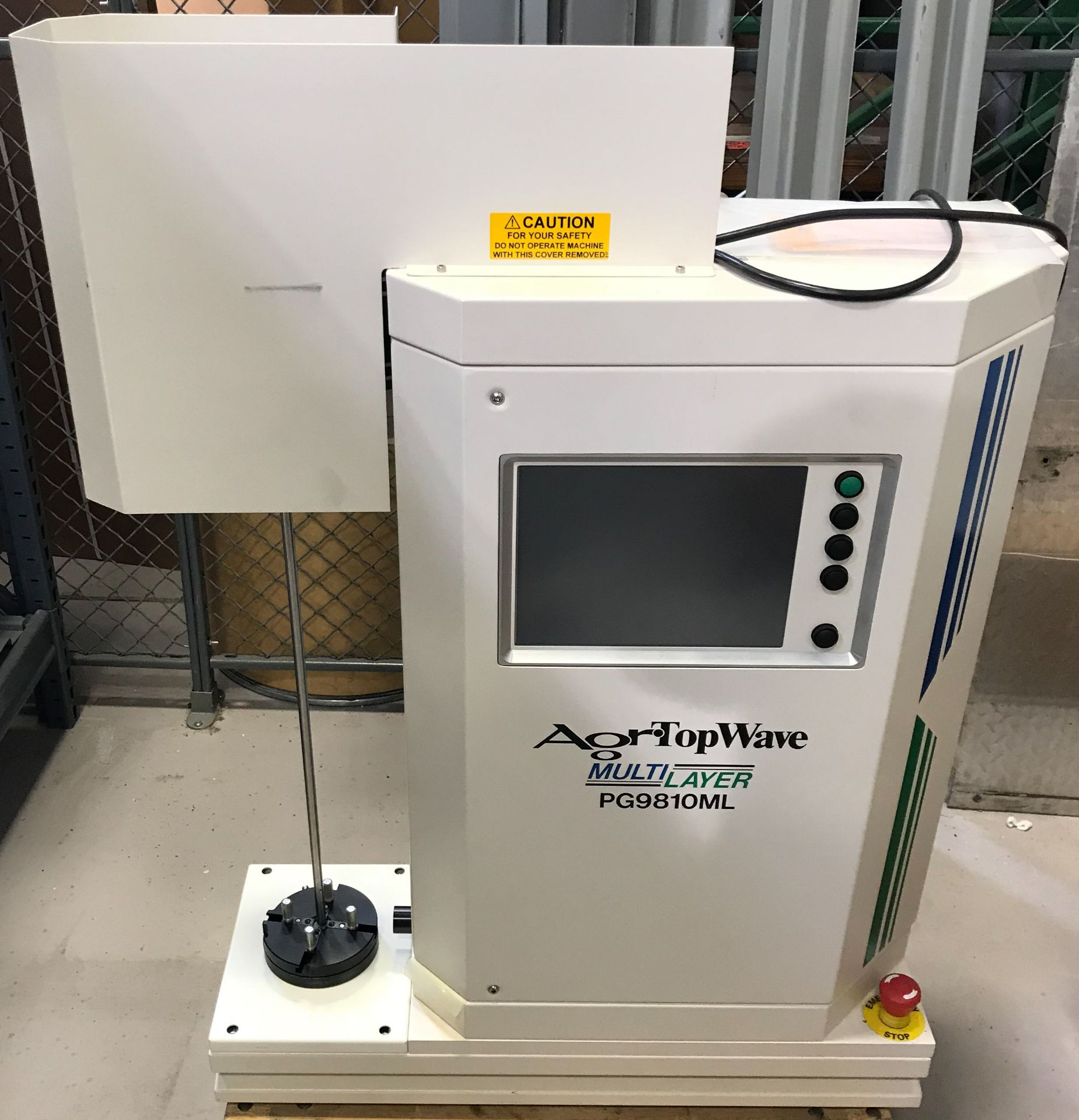 AGR TOPWAVE (2008) PG9810ML MULTI-LAYER DIGITAL PROFILER WITH TOUCH SCREEN CONTROL, S/N: 207 [