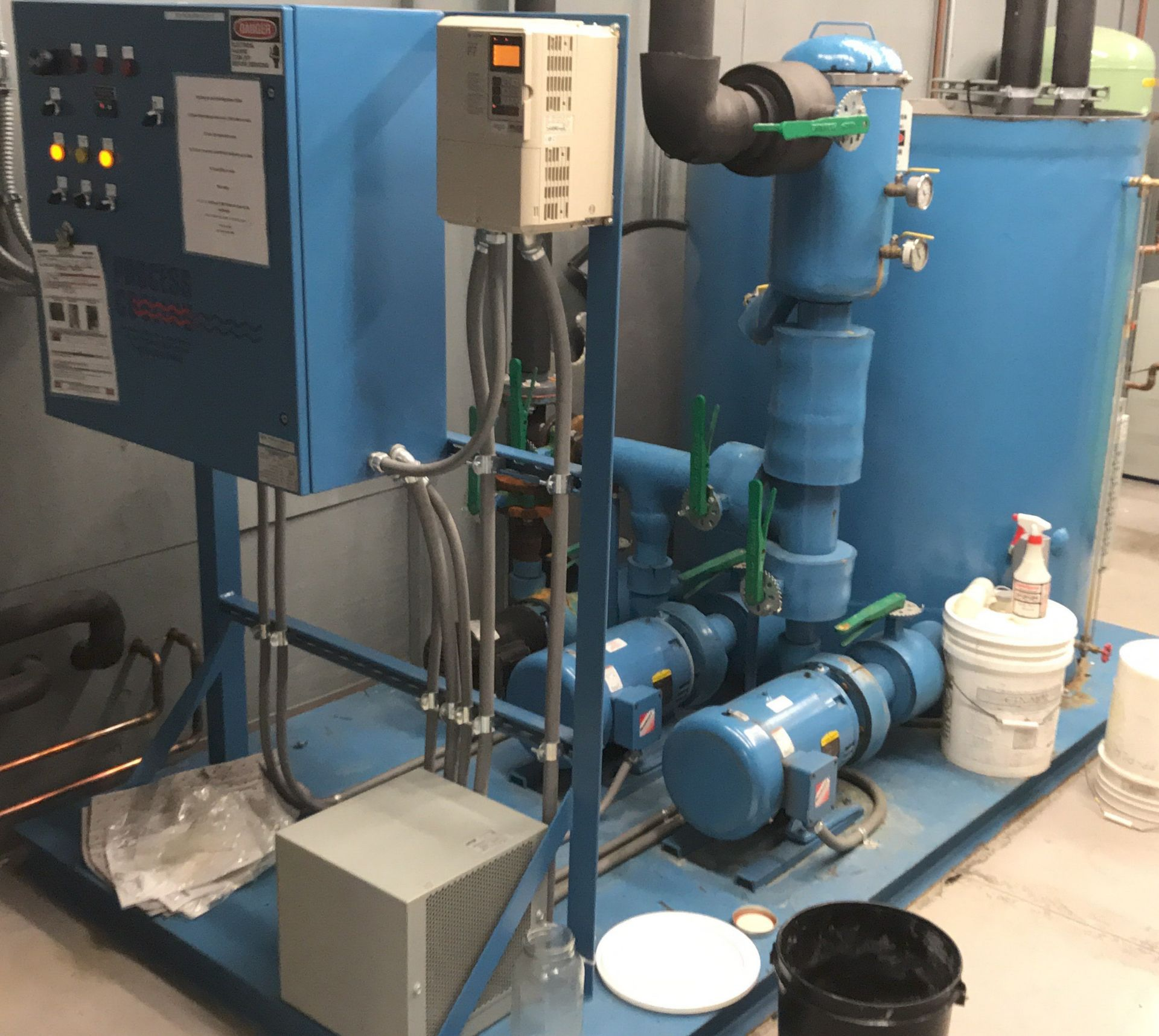 TRANE RAUJC404PC13A0DF00C00 ROOFTOP CHILLER UNIT WITH 460V, 3 PHASE, PROCESS COOLING SYSTEMS - Image 3 of 4