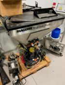 MAGUIRE WEIGH SCALE STAINLESS STEEL GRAVIMETRIC BLENDER, S/N: N/A