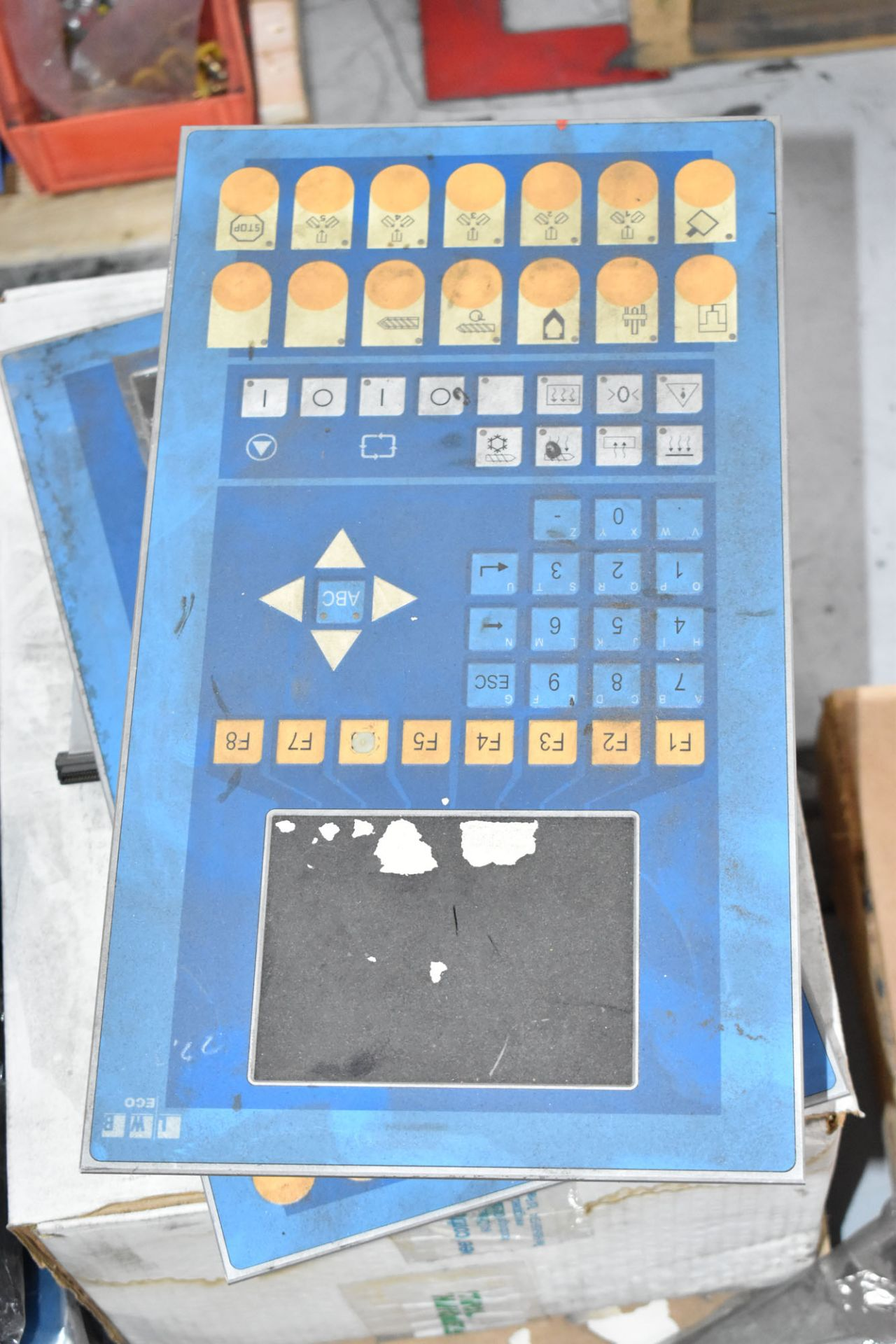 LOT/ PALLET WITH CONTENTS CONSISTING OF ELECTRICAL PANELS, PARTS, AND EXTRUDER LINE COMPONENTS [ - Image 2 of 3