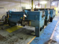"""GERLACH 3M OVEN WITH 60KW KROMSCHRODER BURNERS, 8"""" X 4"""" PART OPENING, S/N: N/A (CI) [1017] ("""