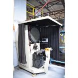 """ST INDUSTRIES MODEL 20-2450 24"""" OPTICAL COMPARATOR WITH QUADRA-CHEK 200 3-AXIS DRO, S/N: F052801 ("""