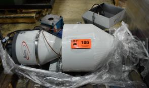 LOT/ HAMILTON VACUUM LOADER, HOPPERS & MAGNETIC PULL-OUT DRAWER (LOCATED IN BRAMPTON, ON) [RIGGING