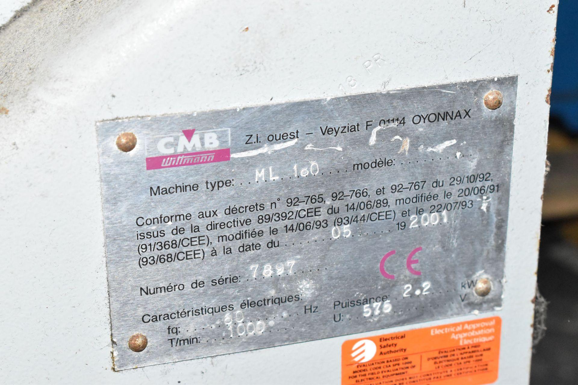 WITTMANN CMB ML180 PORTABLE GRANULATOR, S/N: 7897 - Image 3 of 3