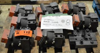LOT/ (8) HYDRAULIC MOLD CLAMPS (LOCATED IN BRAMPTON, ON)