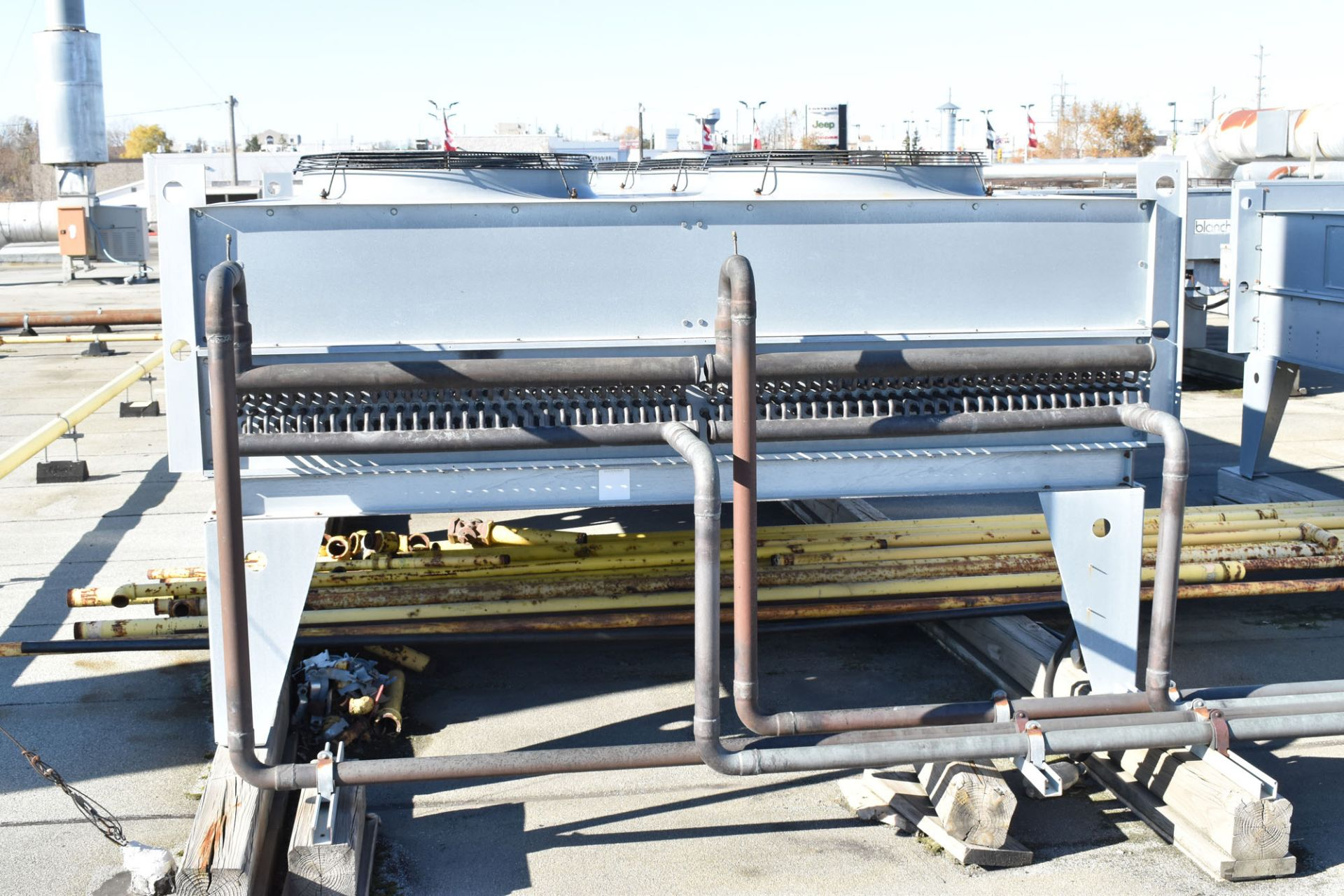 BERG AQR-160-2/2 SKID-MOUNTED INDUSTRIAL CHILLER WITH 160 TON CAPACITY, 178 HP, BERG SC6 TOUCH- - Image 9 of 13