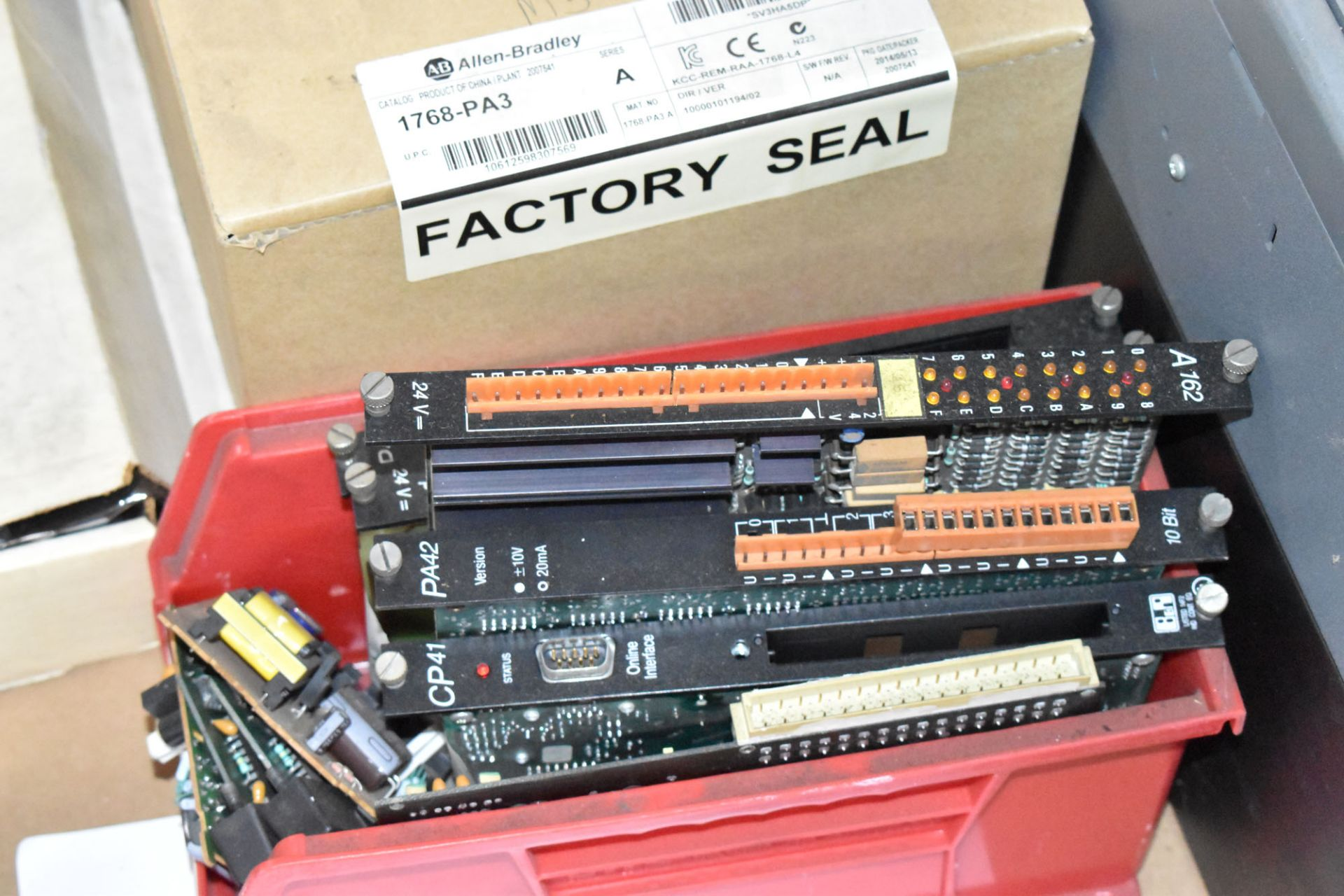 LOT/ PALLET WITH CONTENTS CONSISTING OF ELECTRICAL PANELS, PARTS, AND EXTRUDER LINE COMPONENTS [ - Image 4 of 5