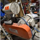 NUCON 15 HP POSITIVE DISPLACEMENT BLOWER (LOCATED IN BRAMPTON, ON) [RIGGING FEES FOR LOT #92 - $25