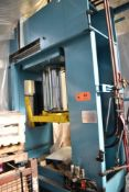 "DISA SERF (2007) AC080/600-025/250CD 80TON CAPACITY PRESS WITH 30""X20"" PLATTEN AND BED, S/N: 05.11."