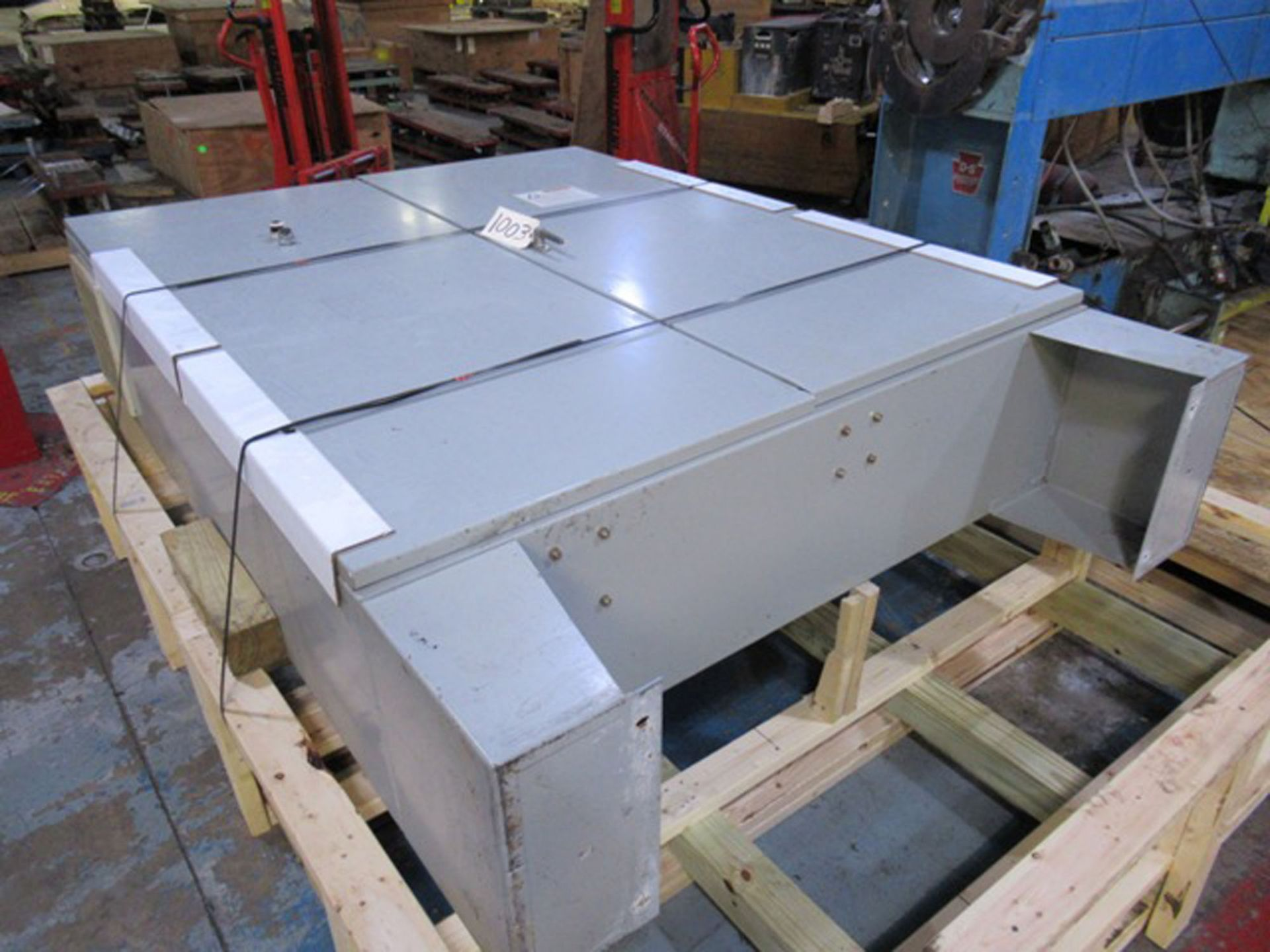 CONTROL/POWER BOX FOR (2) DAVIS STANDARD PLASTIC EXTRUDERS, S/N: N/A (CI) [1003] (LOCATED IN NORTH