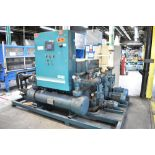 BERG AZ-30-2/1-3P-R SKID MOUNTED INDUSTRIAL CHILLER WITH 30 TON CAPACITY, 55 HP, BERG SC6 TOUCH-