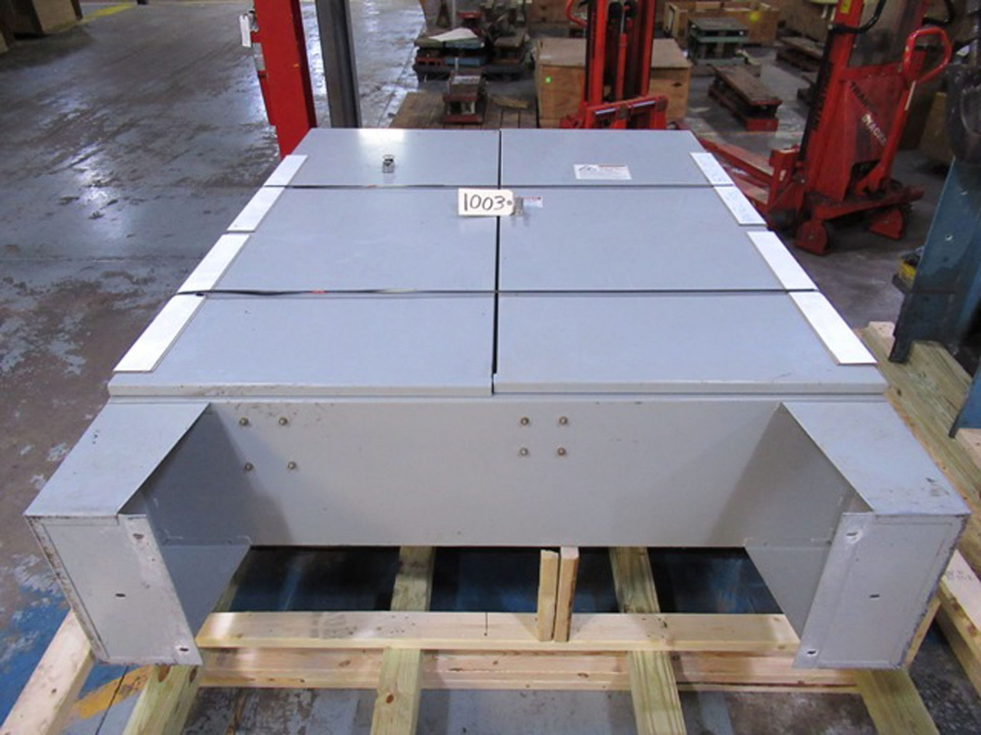 CONTROL/POWER BOX FOR (2) DAVIS STANDARD PLASTIC EXTRUDERS, S/N: N/A (CI) [1003] (LOCATED IN NORTH - Image 3 of 4