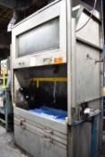 """MFG UNKNOWN IN-LINE SLIP-COAT BOOTH WITH 60""""X34""""X35"""" INTERIOR DIMENSIONS, LIGHTS, S/N: N/A (CI) ["""
