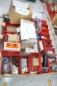 LOT/ PALLET WITH CONTENTS CONSISTING OF FILTERS, COILS AND EXTRUDER LINE COMPONENTS