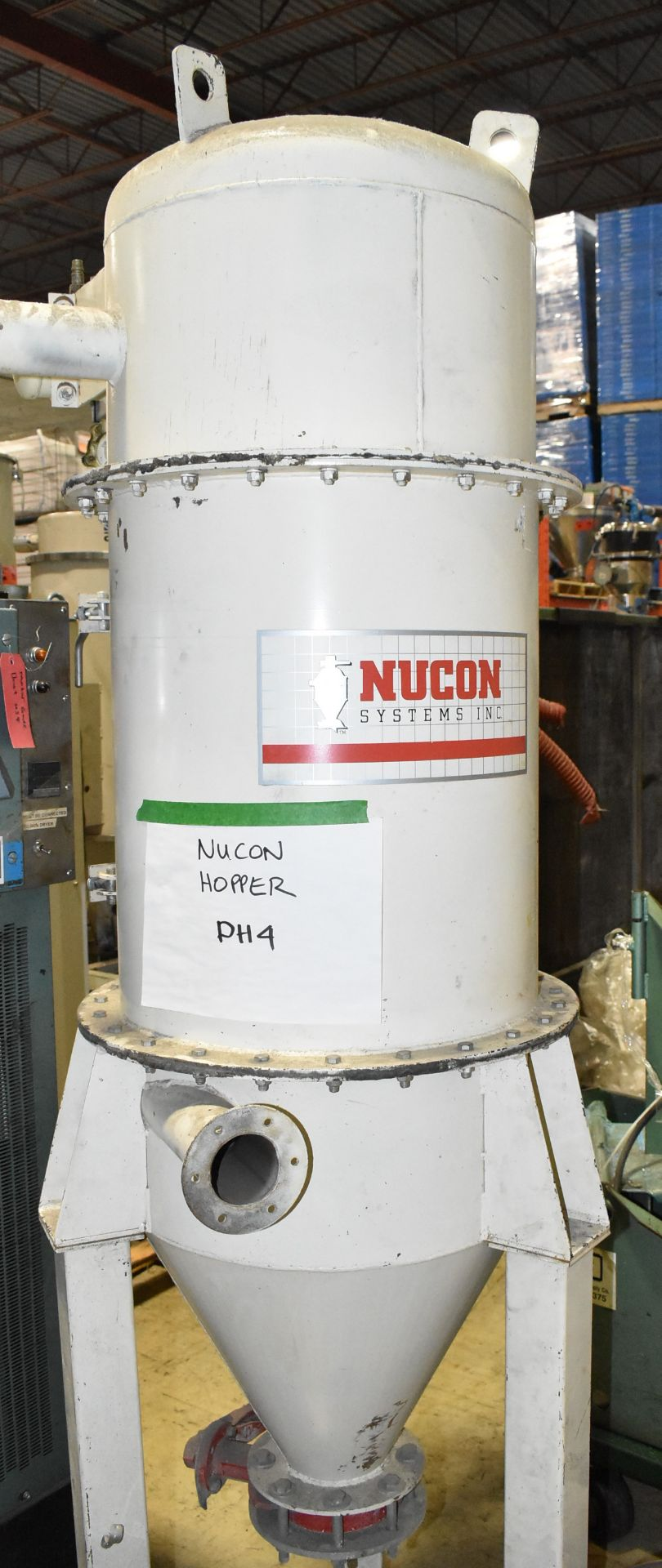 NUCON DRYER HOPPER (LOCATED IN BRAMPTON, ON) [RIGGING FEES FOR LOT #94 - $50 CAD PLUS APPLICABLE - Image 2 of 3