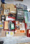 LOT/ PALLET WITH CONTENTS CONSISTING OF ELECTRICAL PANELS, PARTS, AND EXTRUDER LINE COMPONENTS