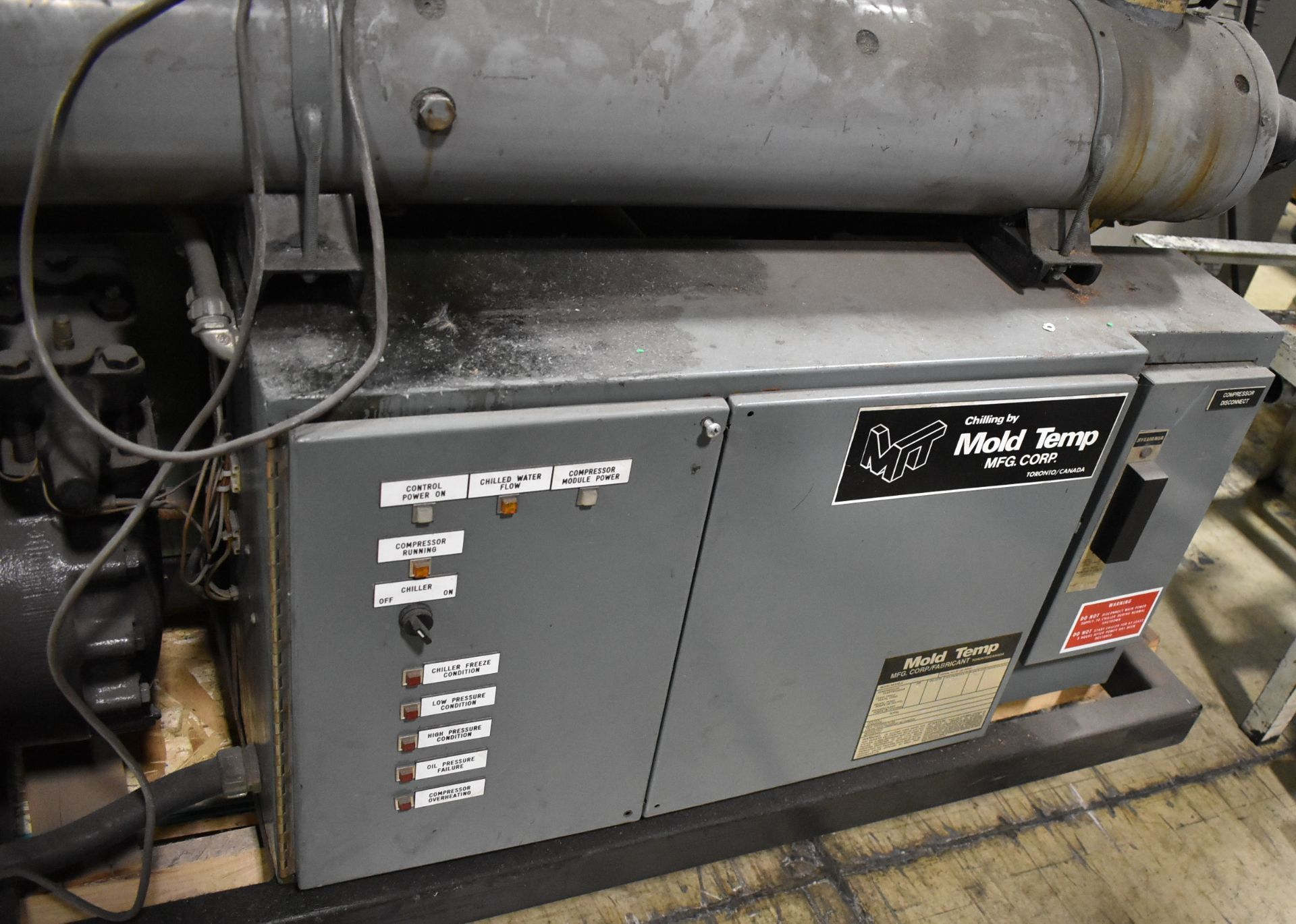MOLD TEMP MAC-30-C 30 HP CHILLER UNIT, S/N: 05-01-001 (CI) (LOCATED IN BRAMPTON, ON) [RIGGING FEES - Image 3 of 4